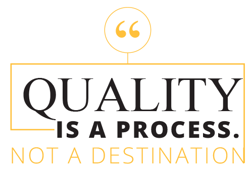 quality is a process