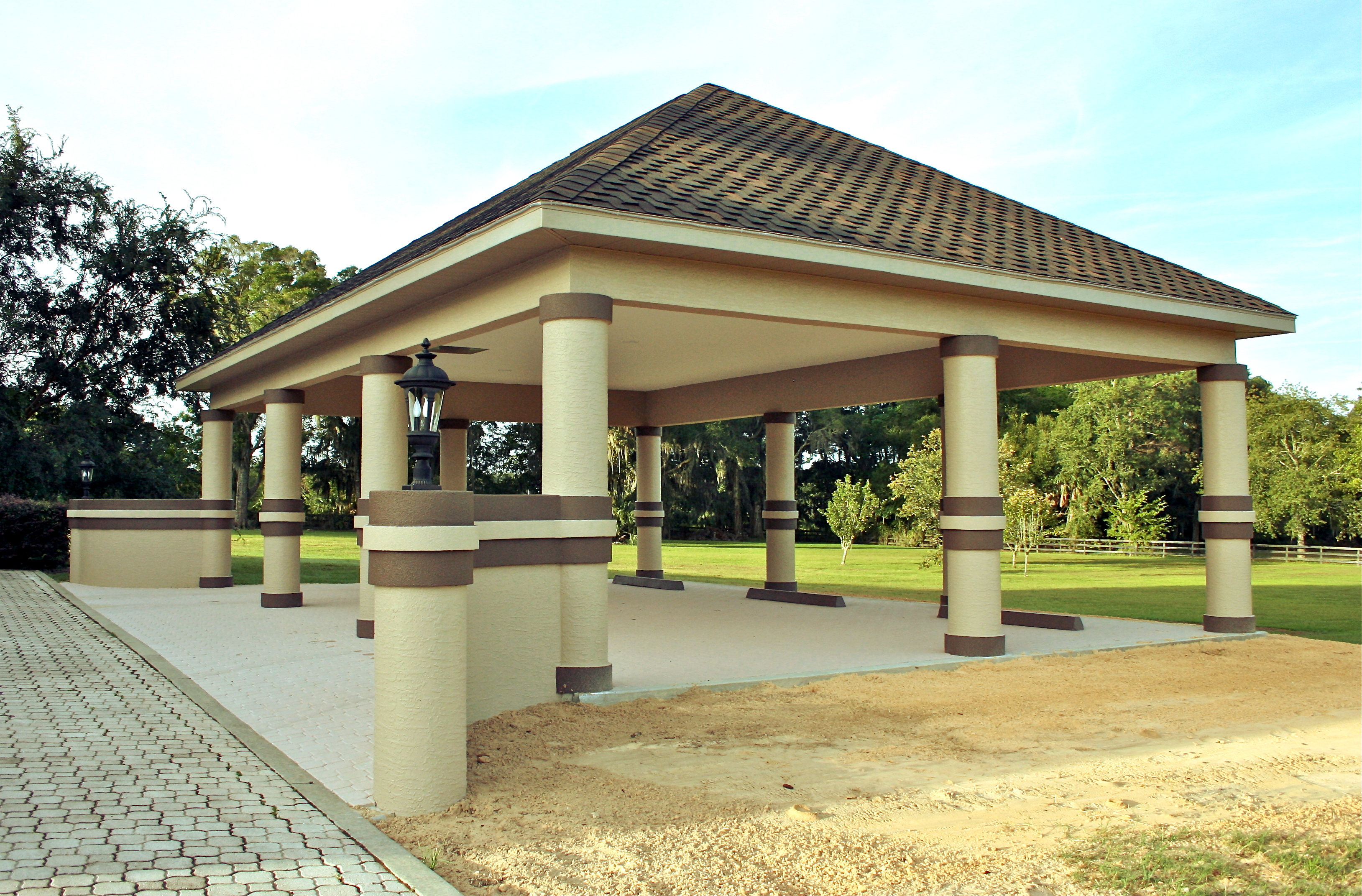 Tallen Builders Private Residence Covered Carport