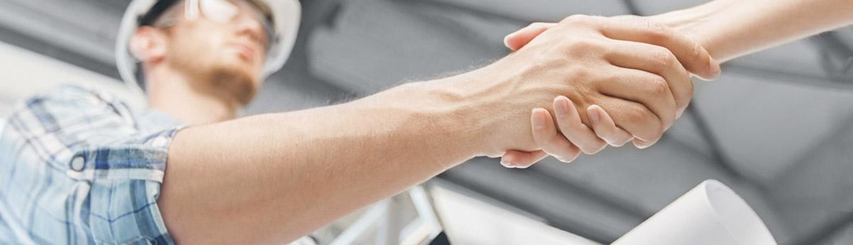 General Contractor Handshake