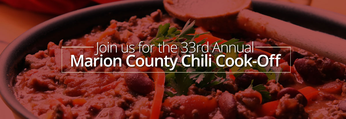 33rd Annual Marion County Chili Cook-Off