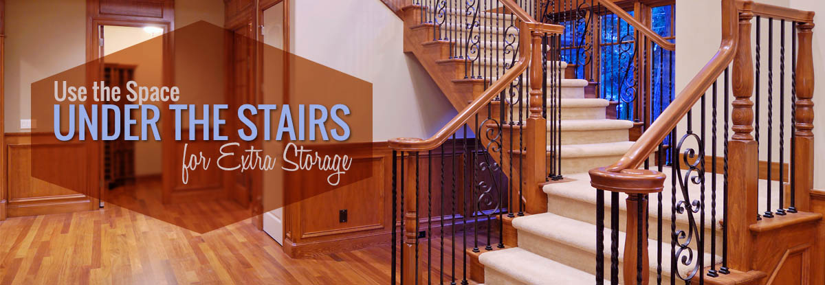 Use Space Under the Stairs