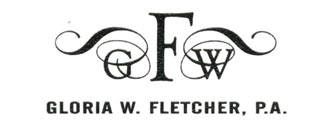 Gloria W. Fletcher, P.A. Logo