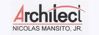 Architect Nicolas Mansito Jr Logo